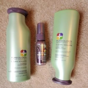 Pureology Clean Volume full size shampoo/cond